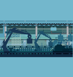 industry automation vector image