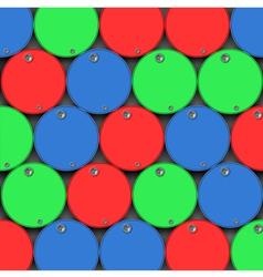 Oil drums barrels vector