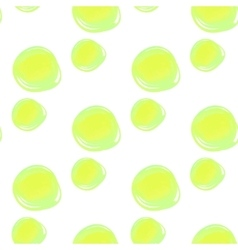 Watercolor circles seamless pattern Colorful vector image