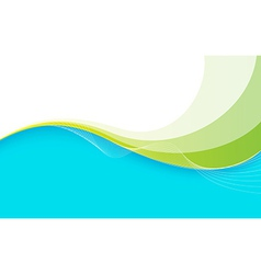 Waves and Lines Background vector