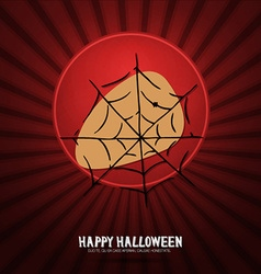 With halloween and web vector