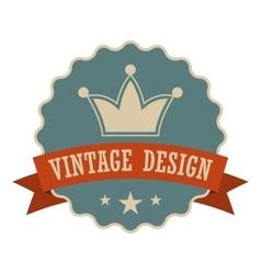 Retail vintage design banner vector