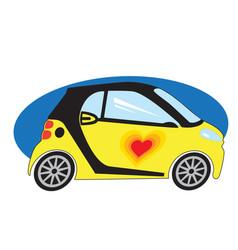 smart love vector image vector image