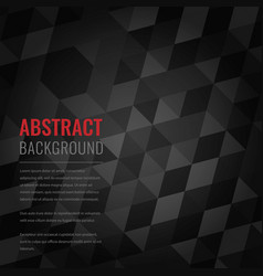 Abstract background with black squares business vector