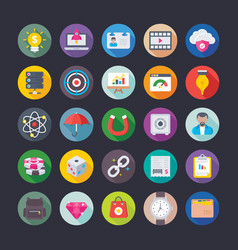 Business and office icons 7 vector