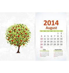 Calendar 2014 3 08 vector