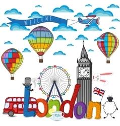City london composition vector