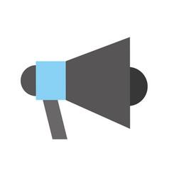 megaphone talk person vector image