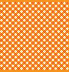 orange argyle harlequin seamless pattern vector image