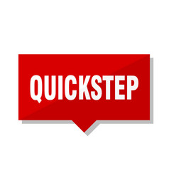 Quickstep red tag vector