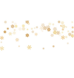 Snow flakes falling macro graphics vector
