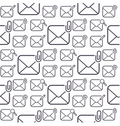email envelope cover communication correspondence vector image