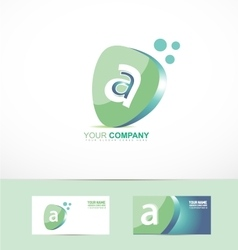 Small letter a logo vector image vector image