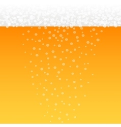 Background with beer theme vector image