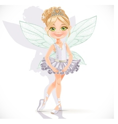 Beautiful little fairy girl vector image vector image