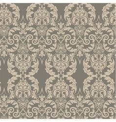Vintage Damask ornament pattern vector image vector image
