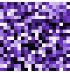 Abstract violet pixel background vector image