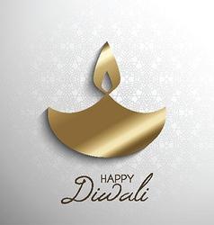 happy diwali light background 2109 vector image