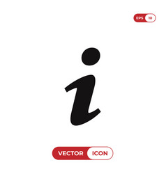 information icon info help faq inform symbol vector image