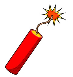 Stick dynamite vector