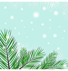 Tree branches background vector image