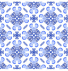 white blue background luxury weave pattern vector image