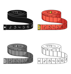 red roulette seamstressessewing or tailoring vector image vector image