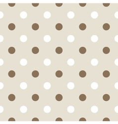 Seamless retro pattern with dots vector