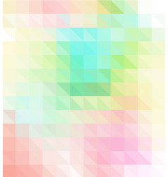 colorful abstract geometric background with vector image