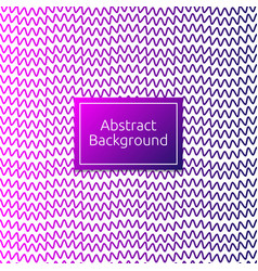 abstract line art pattern background cover vector image