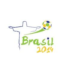 brasil 2014 vector image