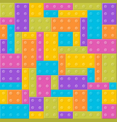 building blocks toy seamless pattern vector image