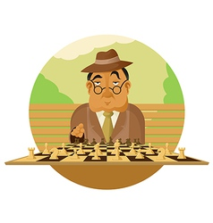 Chess player vector