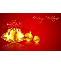 Christmas Bauble and bell vector image