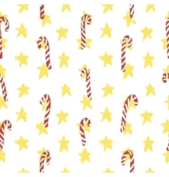 Christmas Simple Pattern vector image