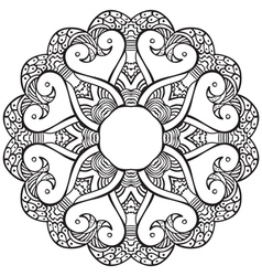 Hand drawn decorative design element vector