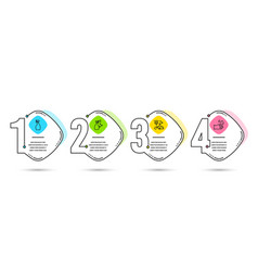 Spray vacuum cleaner and washing cleanser icons vector