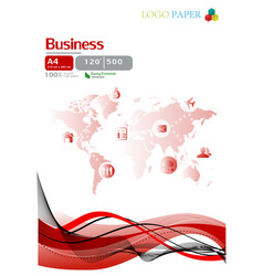 the paper business vector image