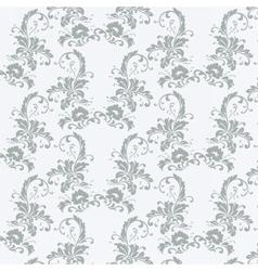 Vintage pattern with peonies vector