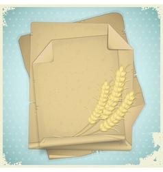 grunge paper vintage vector image vector image