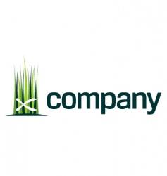 gardening shears logo vector image vector image