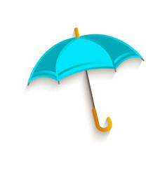 cartoon umbrella symbol vector image