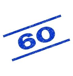 60 Watermark Stamp vector