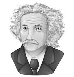 Albert Einstein vector image