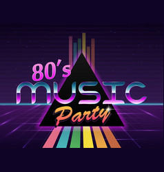 Background in style 80s vector