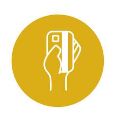 Credit card symbol vector