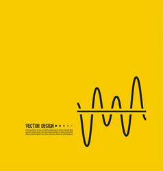 graph chart vector image