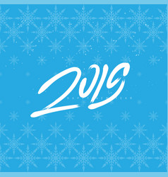 Happy new year 2019 universal background with vector