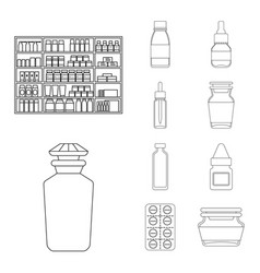 Isolated object of pharmacy and pharmaceutical vector