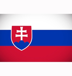 National flag of Slovakia vector image